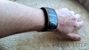Samsung Gear S - MediaTester.pl