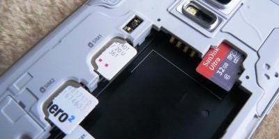Samsung GALAXY S5 mini - wnętrze