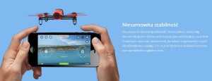 Parrot BEBOP Drone niesamowita stabilność