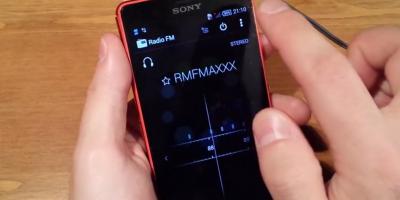 Radio FM Sony Xperia Z3 Compact