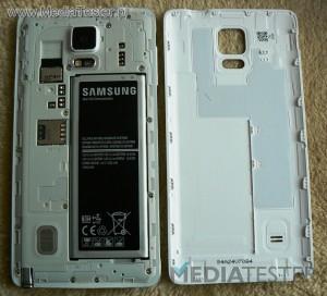Samsung GALAXY Note 4 wnętrze