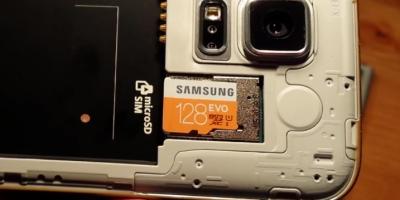 Samsung 128 GB EVO microSDXC UHS-I s5 note4