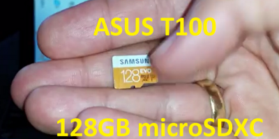 Asus Transformer Book T100 128GB microSDXC