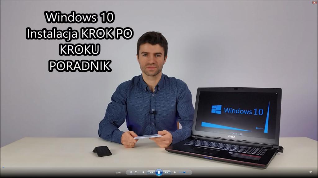 Windows 10 Instalacja PORADNIK Krok Po Kroku
