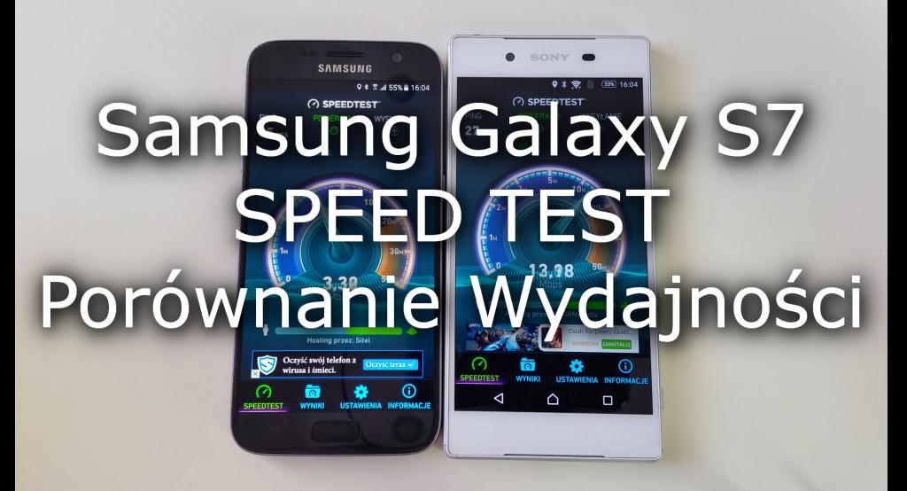 Galaxy S7 vs Xperia Z5 SPEED TEST Porównanie Wydajności 2