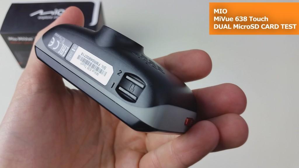 MiVue 638 Touch Dwie Karty Pamięci TEST (7)
