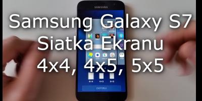 Samsung Galaxy S7 Układ Ikon Na Ekranie 5x5