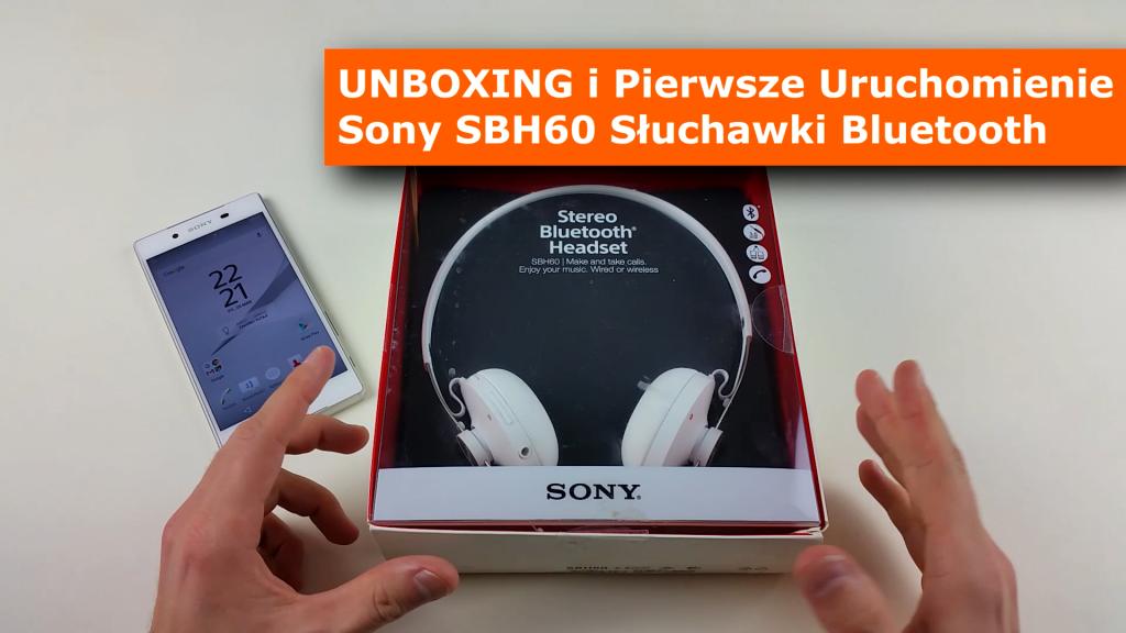 Sony SBH60 UNBOXING i Pierwsze Uruchomienie