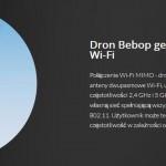Parrot BEBOP Drone własna sieć WIFI
