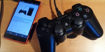 Sony XPERIA vs. Sony wireless controller DualShock PS3 = OK