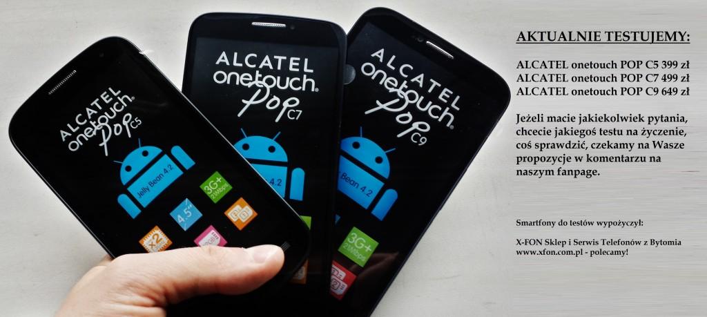 ALCATEL onetouch POP C5 C7 C9