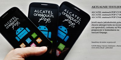 ALCATEL onetouch POP C5 C7 C9