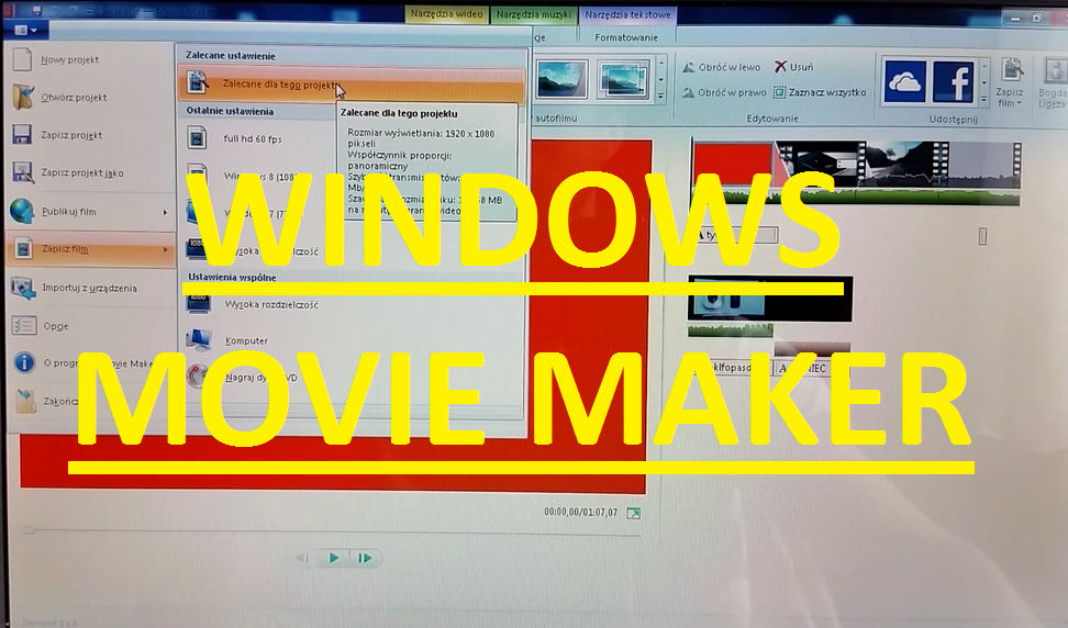 Jak stworzyć film lub intro bezpłatnie i samodzielnie? Movie Maker wystarczy!