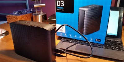 Samsung D3 Station 4TB USB 3.0 3,5' 5400 HDD 3 lata gwarancji