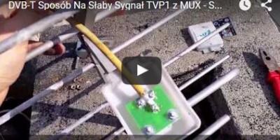 TVP1, TVP2 nie odbiera na DVB-T - ROZWIĄZANIE